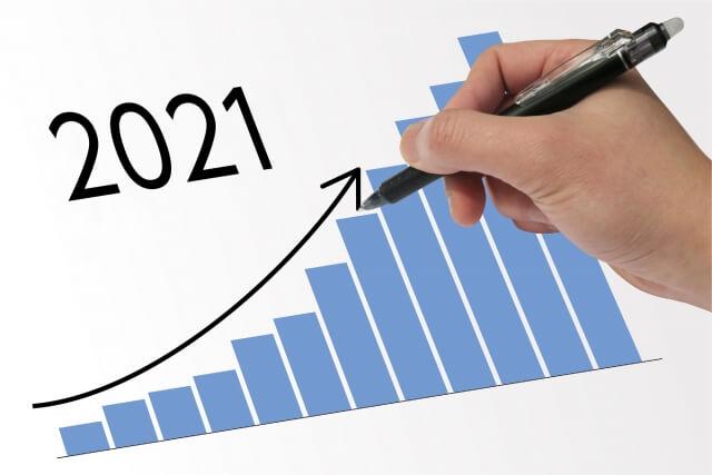 2021年1月度の収益